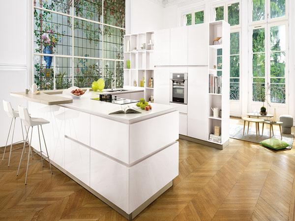 cuisine americaine design. Black Bedroom Furniture Sets. Home Design Ideas