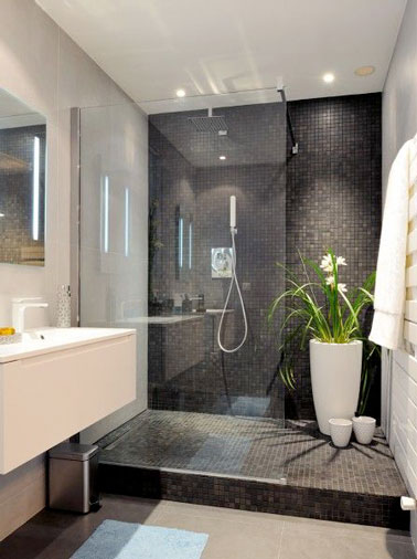 20 salles de bain design la d co epur e et tendance for Photo salle de bain design