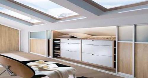Dressing sous pente pour une d co chambre optimis e for Personnaliser sa chambre