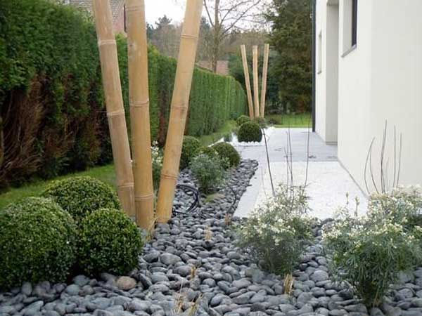 Comment am nager un jardin zen deco cool for Idee deco bambou