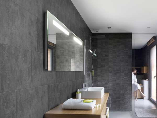 Lambris pvc le rev tement mural et plafond d co - Salle de bain lambris ...