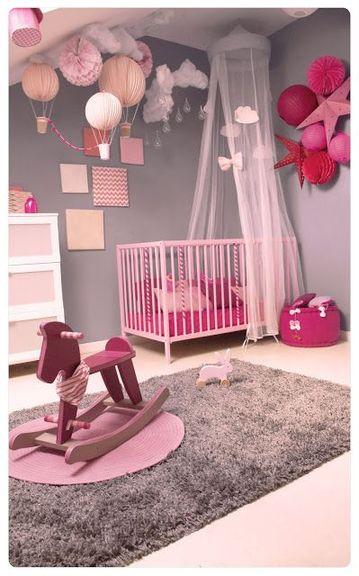 8 chambres de princesse qui vitent les vieux clich s d co - Idee deco chambre bebe fille rose ...
