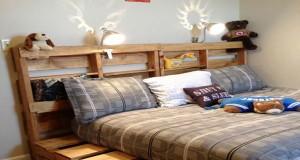 34 Idees De Lit En Palette Bois A Faire Pour La Chambre