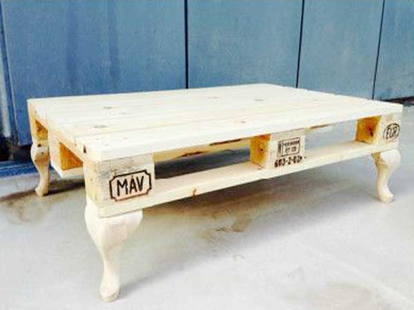 17 id es pour fabriquer une table basse palette deco cool for Pied de table en anglais