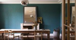 Papier peint la tendance 2016 avec le papier little greene for Tapisserie salon salle a manger