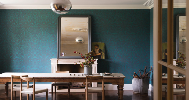 Le papier peint farrow and ball fait peau neuve - Farrow and ball papier peint ...