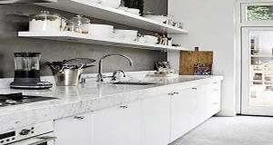 Cuisine blanche 20 id es d co pour s 39 inspirer deco cool for Monter un plan de travail cuisine