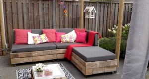 faire un salon de jardin en palette deco cool. Black Bedroom Furniture Sets. Home Design Ideas