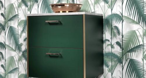 relooker un meuble ikea pour 100 euros avec bocklip. Black Bedroom Furniture Sets. Home Design Ideas