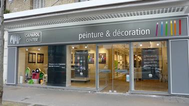 Un showroom Caparol Center à Paris pour concrétiser nosprojets de décoration et bénéficier de l'aide de professionnels de la déco et de leurs conseils !