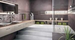 20 salles de bain zen qui donnent des id es d co deco cool - Estrade salle de bain ...