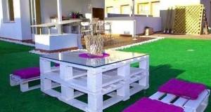 17 Idées pour Fabriquer une Table Basse Palette   Deco-Cool