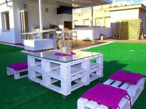 Table Basse Palette Pour Salon De Jardin En Palette