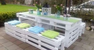 Faire un Salon De Jardin En Palette | Deco-Cool