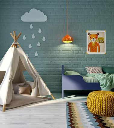 un tipi de lecture pour une d co chambre fille. Black Bedroom Furniture Sets. Home Design Ideas
