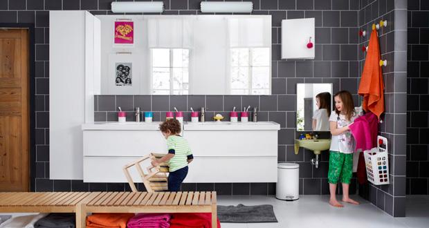 Des Accessoires Rigolos Pour Une Salle De Bain Enfant