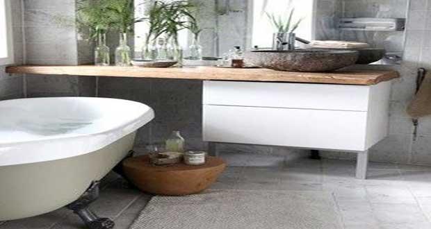 D co styl e pour une petite salle de bain deco cool for Decoration pour petite salle de bain