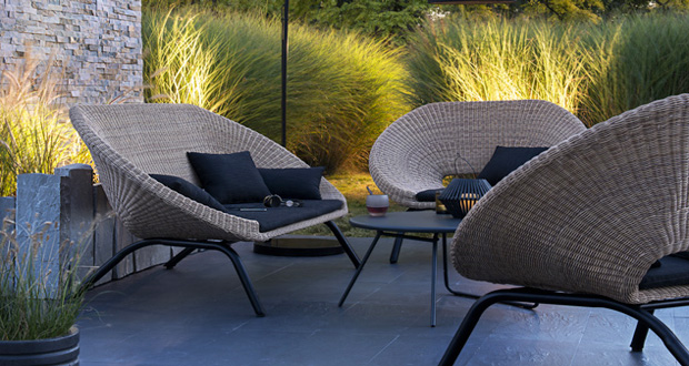 des salons de jardin d co pour am nager sa terrasse. Black Bedroom Furniture Sets. Home Design Ideas