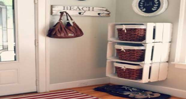 diy deco rangement organiser interieur accueil design et. Black Bedroom Furniture Sets. Home Design Ideas