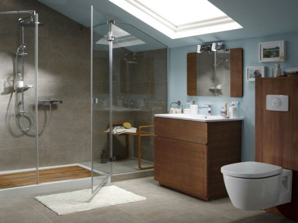 carrelage salle de bain sol douche italienne. Black Bedroom Furniture Sets. Home Design Ideas