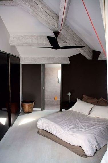 10 d co chambres avec poutres apparentes very charmantes. Black Bedroom Furniture Sets. Home Design Ideas
