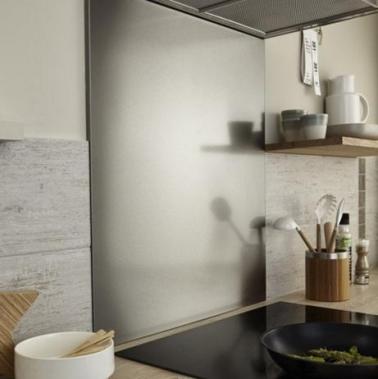 Cr dence verre ou inox 13 mod les d co pour la cuisine - Credence en verre leroy merlin ...