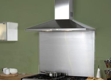 Cr dence verre ou inox 13 mod les d co pour la cuisine for Credence hotte inox