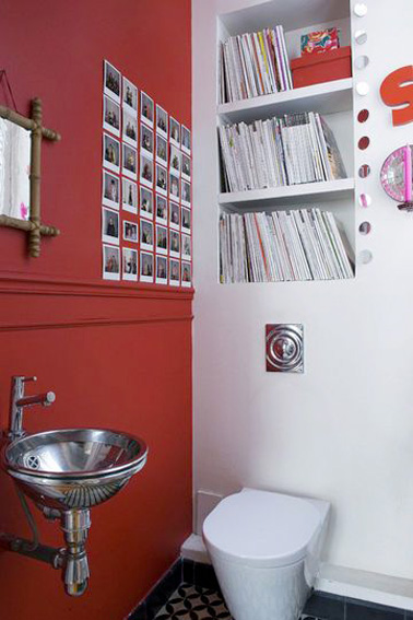 5 id es tendances pour faire sa d co wc - Idees deco toilettes photos ...