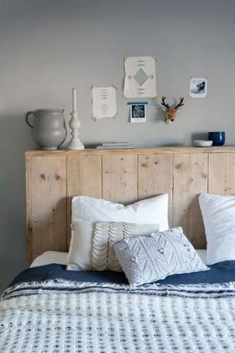 Fabriquer sa nouvelle t te de lit en bois - Creer sa tete de lit ...