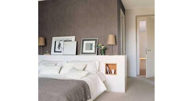 style à sa déco chambre Une tête de lit pas cher faite en bois, en