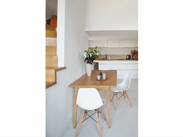 Peinture cuisine blanche et bois for Peinture blanche pour meuble