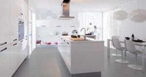 La cuisine blanche met tout le monde d'accord ! Déco moderne ou traditionnelle, meubles laqués ou mats, la rénovation de sa cuisine en blanc est un pari gagnant