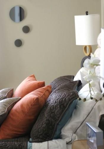Une peinture chambre beige reposante et l gante for Choix de peinture pour chambre