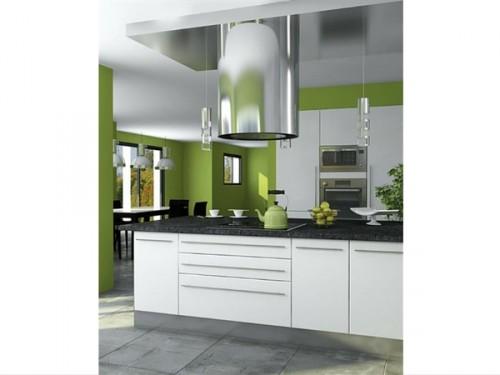 une peinture cuisine vert pomme. Black Bedroom Furniture Sets. Home Design Ideas
