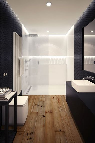 d co styl e pour une petite salle de bain deco cool. Black Bedroom Furniture Sets. Home Design Ideas