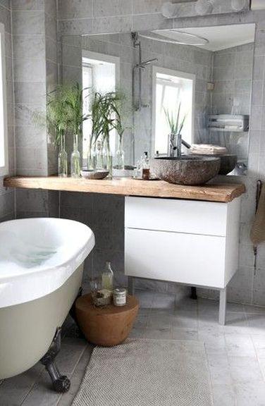 D co styl e pour une petite salle de bain deco cool for Decoration petite salle de bain