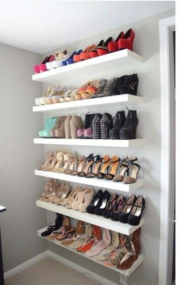 Rangement chaussures prix mini ou faire soi m me - Etagere a chaussure pas cher ...