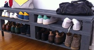 10 rangements pour chaussures faire soi m me - Fabriquer meuble a chaussure ...