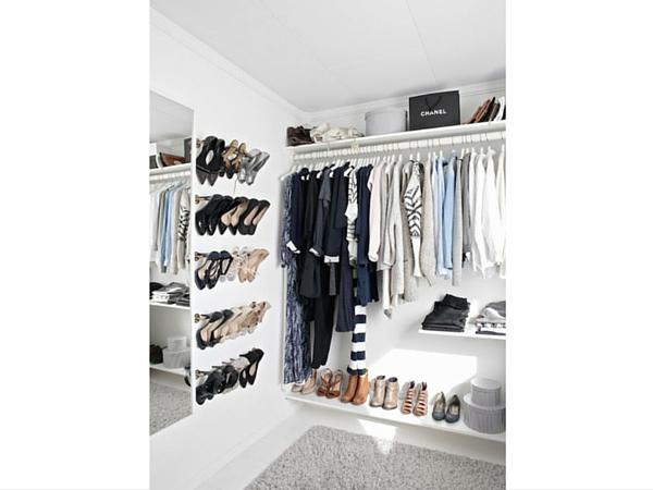 Rangement chaussures prix mini ou faire soi m me - Rangement chaussures dressing ...