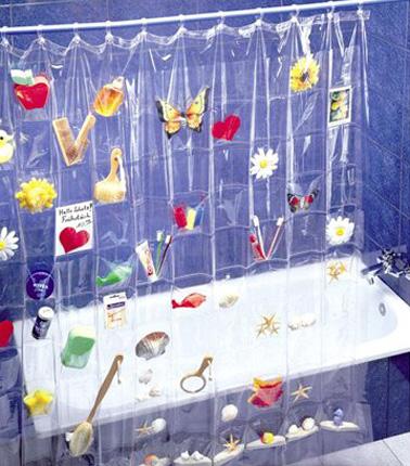 Rideau pour douche italienne maison design - Rideau pour salle de bain ...
