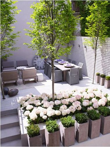 7 d co terrasses am nag es avec de la verdure for Terrasse amenagement plantes