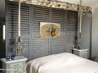 8 id es d co pour fabriquer une t te de lit pas cher - Tete de lit sans fixation au mur ...