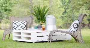 Faites le plein d'idées déco pour aménager votre jardin avec des meubles en palettes ! Des astuces pour une déco d'extérieur tendance, pas cher et pleine d'originalité