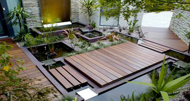 amenager une terrasse en bois pas cher diverses id es de conception de patio en. Black Bedroom Furniture Sets. Home Design Ideas