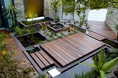 Un jardin zen am nag sur la terrasse - Amenager une terras ...
