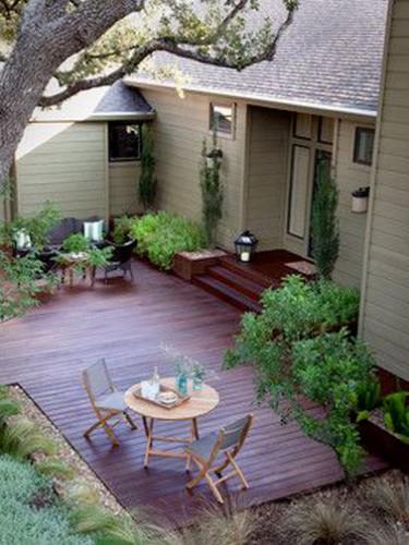 12 amenager un balcon et petite terrasse avec fermob marseille - Amenager une terras ...