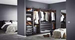 quelles dimensions pour un dressing bien organis. Black Bedroom Furniture Sets. Home Design Ideas