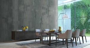 La peinture effet béton pour une déco style loft dans la cuisine, le salon, la salle de bain .Entre peinture et enduit béton loft, un nouveau produit ID pour peindre murs, sol et douche italienne