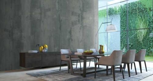 peinture effet b ton pour murs sol et douche italienne. Black Bedroom Furniture Sets. Home Design Ideas
