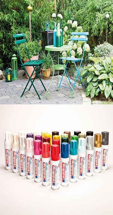 De la peinture en bombe pour rénover et donner une deuxième vie aux objets abimés, c'est pratique ! Une bonne idée pour mettre de la couleur et donner du style à la déco